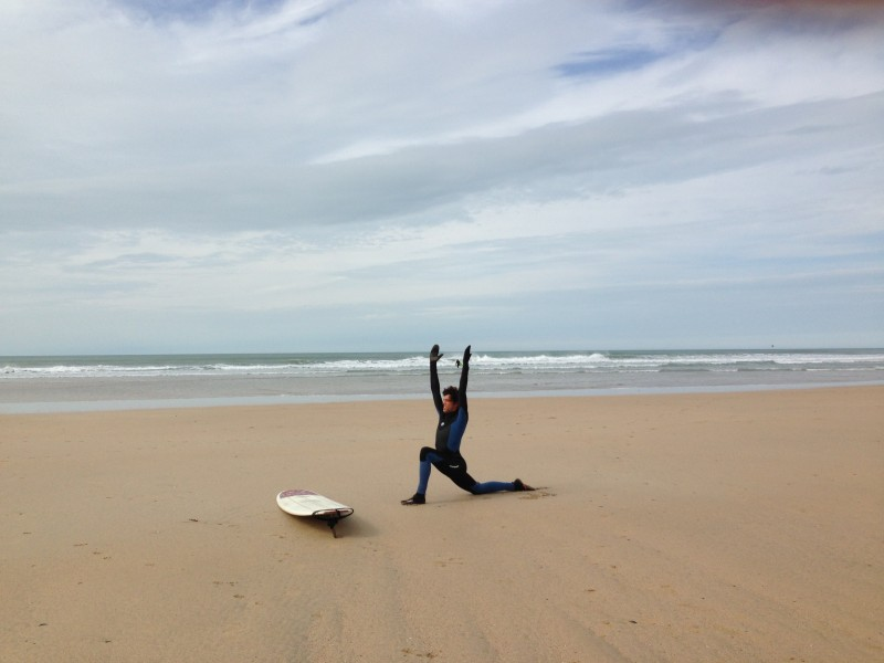 Oceanflow Yoga Newquay Cornwall Surf fitness
