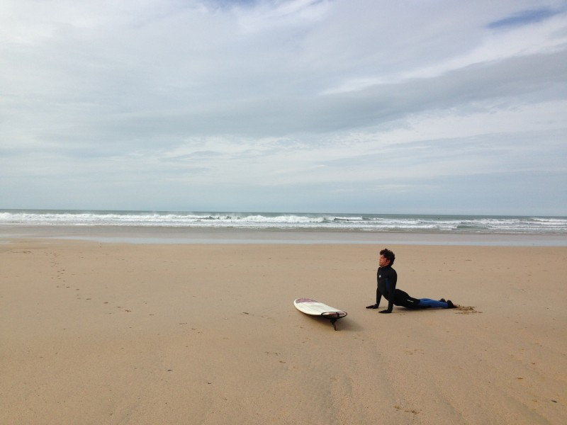 Oceanflow Yoga Cornwall Newquay Surf Fitness