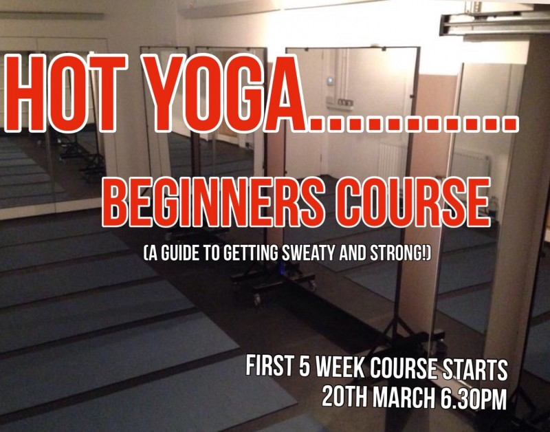 Beginners HOT yoga bikram course newquay cornwall