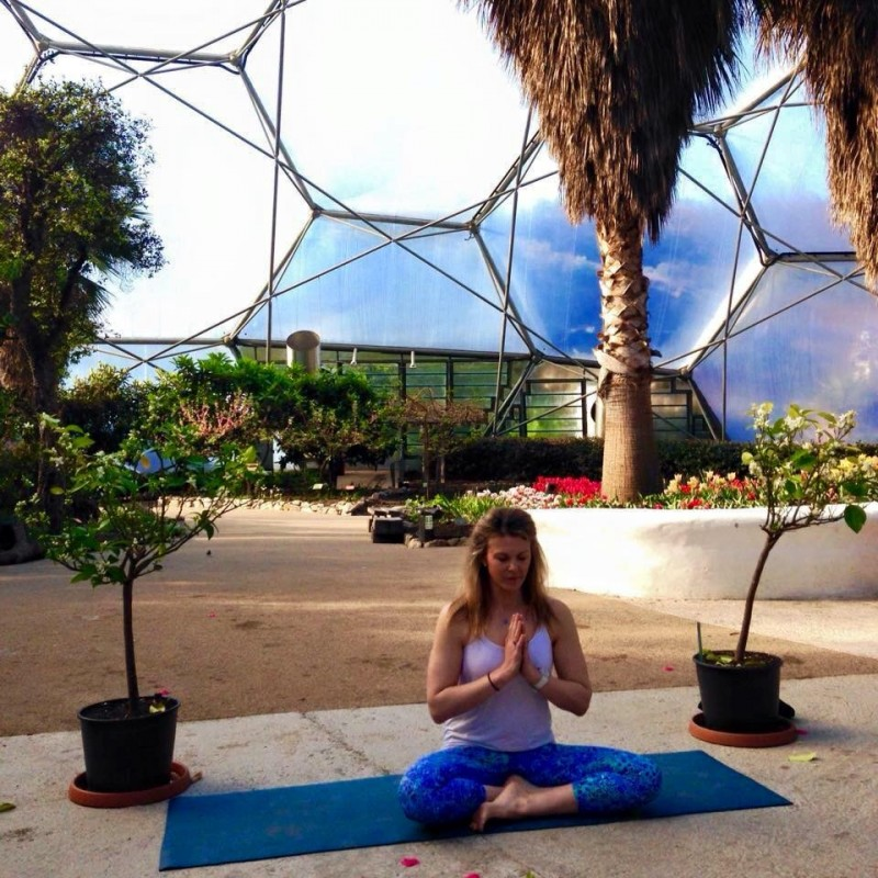 Eden Project Yoga Cornwall Free classes workshops