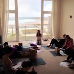 Seasonal workshop retreat Oceanflow yoga Newquay cornwall