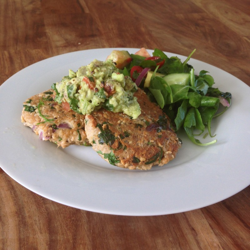 Salmon burger recipe oceanflow yoga newquay cornwall health