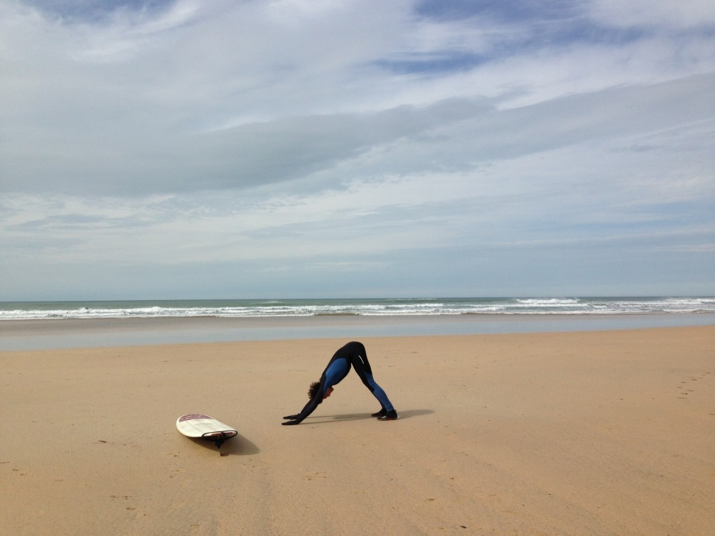 Oceanflow Yoga Newquay Cornwall Surf fitness prevent injury warmup