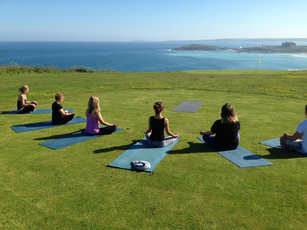 Oceanflow Yoga Newquay Outdoor Yoga Class