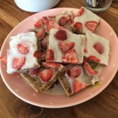 Strawberry & Coconut Summer Slice