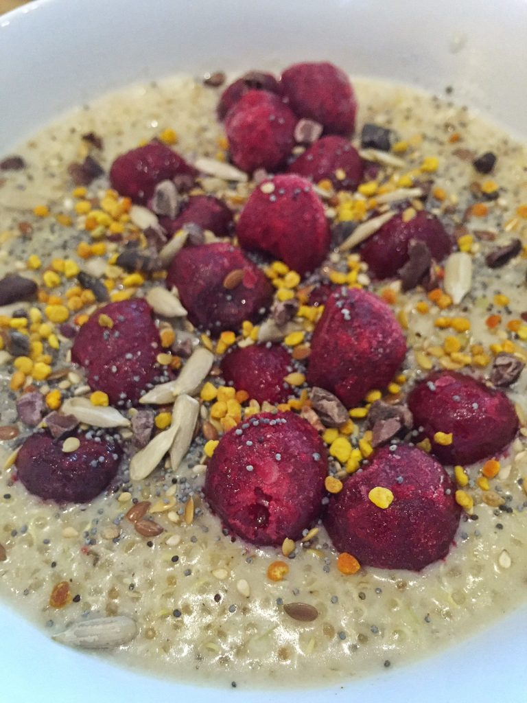 Oceanflow Yoga recipes Gluten free vegan breakfast snack cornwall health fitness