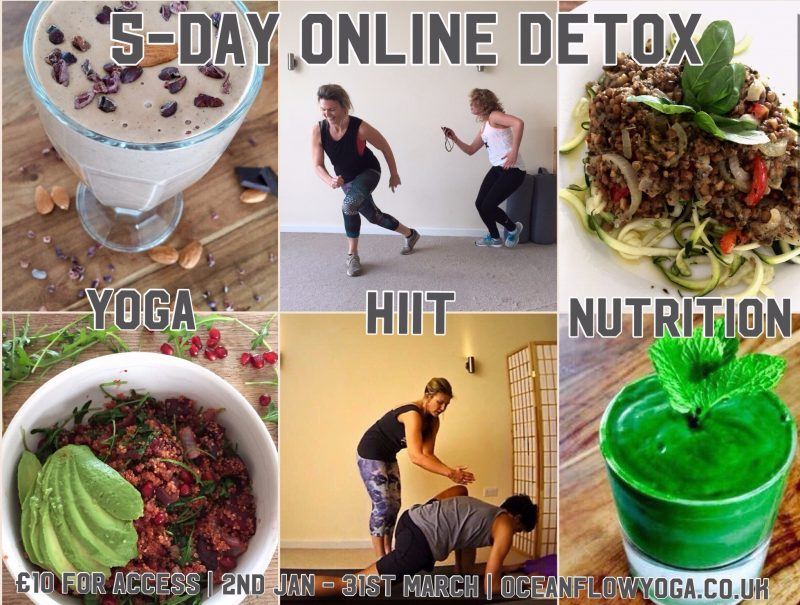 detox plan health fitness yoga hiit lifecoaching motivation newquay cornwall online
