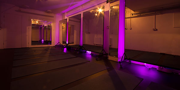 Oceanflow Bikram hot yoga studio in newquay cornwall