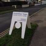 Oceanflow Yoga Sign