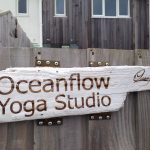Oceanflow Yoga Gate Sign