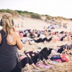 silent disco yoga newquay