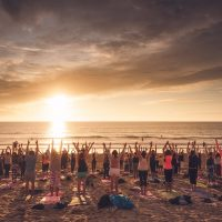 Silent Disco Yoga: The LAST Beach Session of 2017!