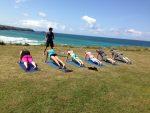 Oceanflow Yoga hot yoga surf retreat Newquay Cornwall UK