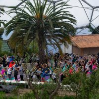 Silent Disco Yoga – The EDEN Session | Fri 7th June 2019 7.00-8.15pm