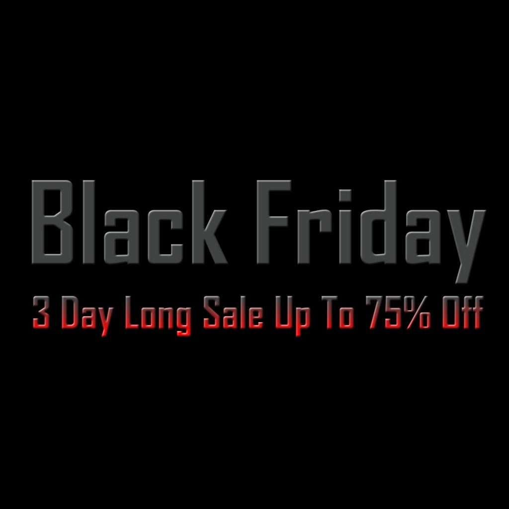 Yoga Emporium Black Friday Super Sale 75% Off