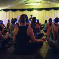 Silent Disco Yoga! Deep Beats Vinyasa Yoga & Relaxing Yoga Nidra Meditation classes | Saturday 2nd Feb 2019 from 5pm