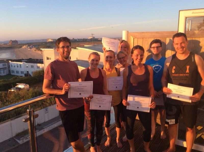 beginner yoga newquay cornwall