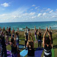 POP UP Silent Disco Yoga – Uplift Flow Yoga on the Esplanade! Saturday 20th April 2019 3.30pm
