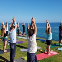 OUTSIDE Yoga this Summer!