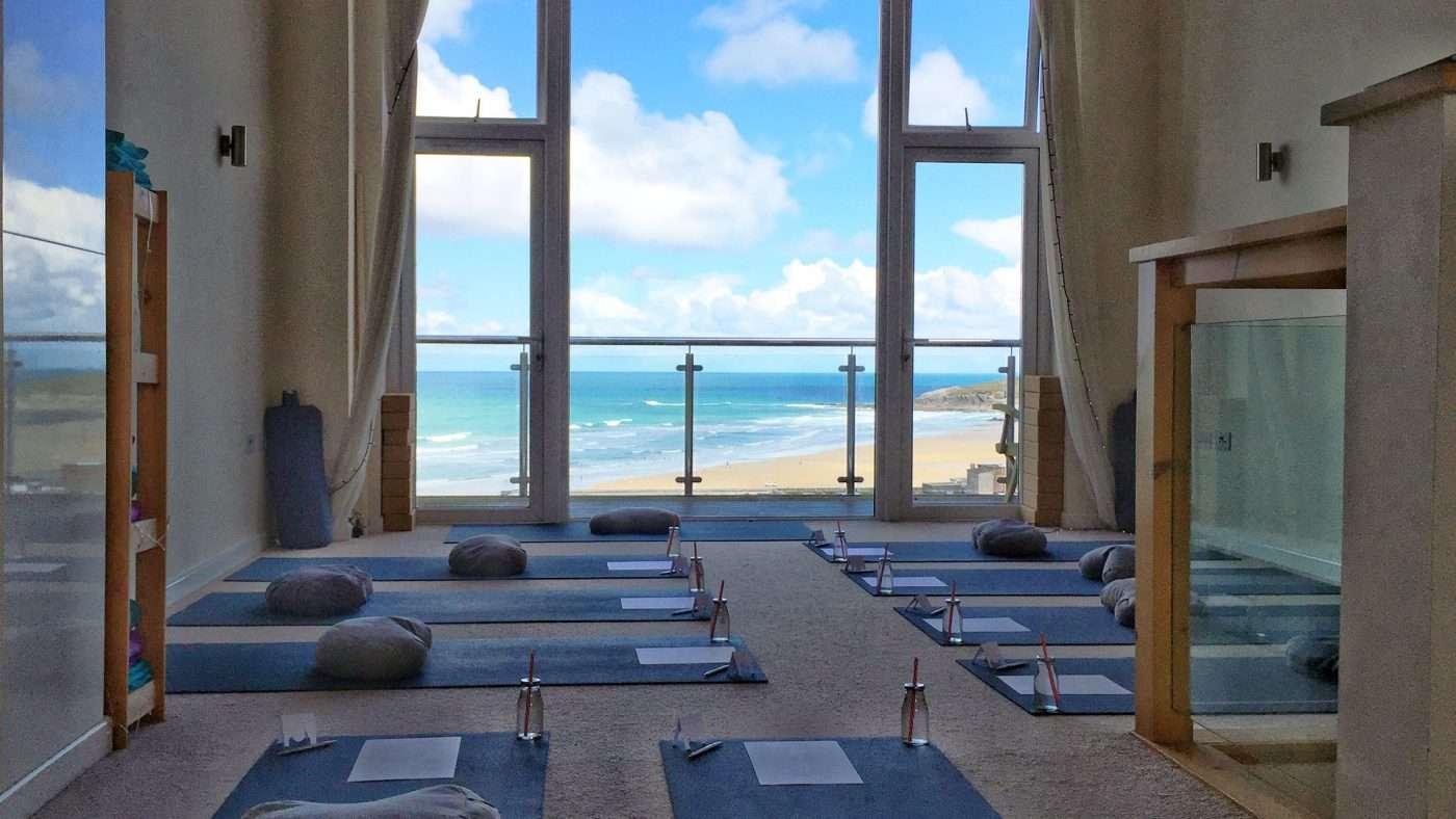 Oceanflow Yoga Studio Newquay Cornwall