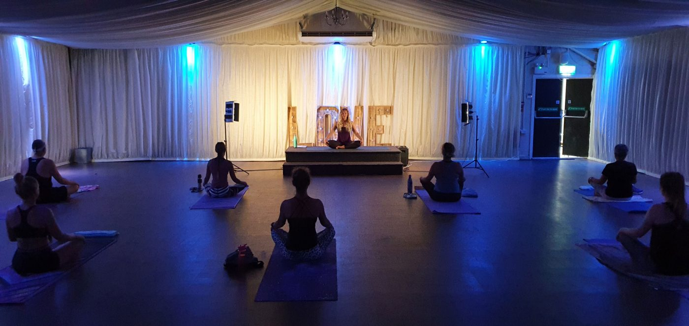 Oceanflow Yoga at the Carnmarth Hotel