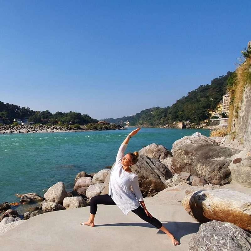 Jen Harvey Experienced yoga teacher Newquay Cornwall UK